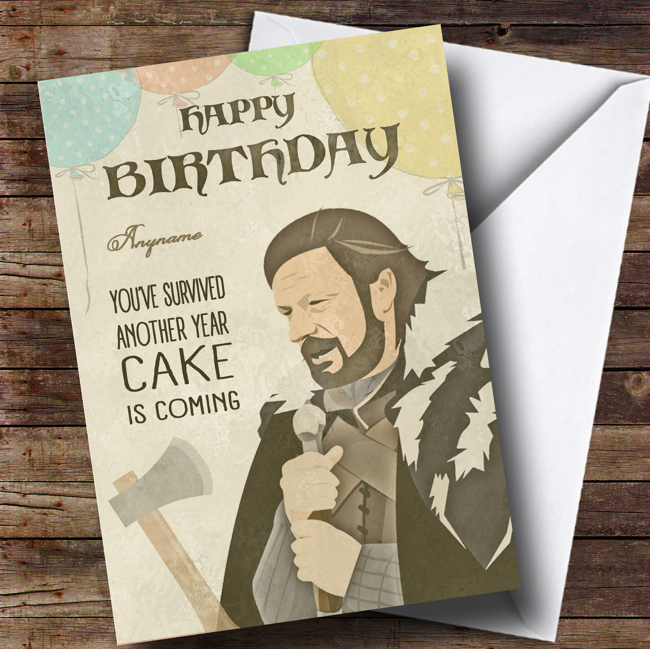 Customized Personalized Birthday Greeting Card Choice Of ...