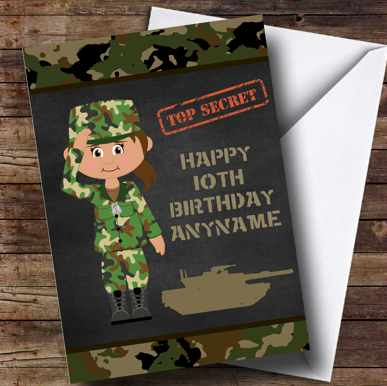 children's birthday card personalized lots of designs