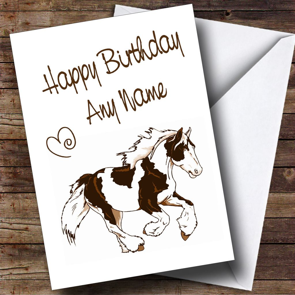 Animal Personalized Birthday Card Lots To Choose From Customized